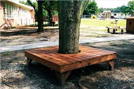 Patio Around Tree Benches Around Trees Part 48 Enjoyable Around Tree Patio Design