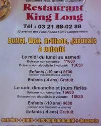 cuisine longuenesse restaurant king dans longuenesse avec cuisine asiatique