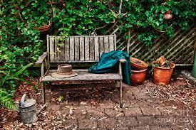 Bench Photography Vintage Wooden Garden Furniture Descargas Mundiales Com