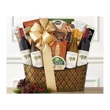 wine baskets free shipping california wine gift baskets free nationwide shipping