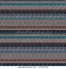 ethnic boho seamless pattern tribal art stock vector 432796495