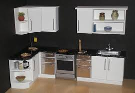 dollhouse kitchen furniture white modern 1 12th scale dollhouse kitchen from my mornin flickr