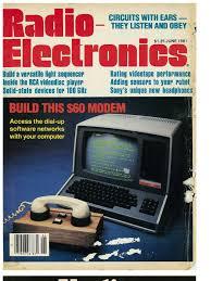radio electronics magazine 06 june 1981 compact cassette