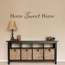home wall home sweet home wall decal home sticker wall quote