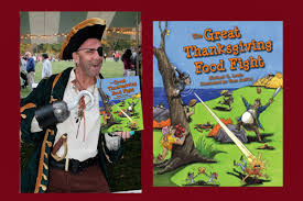 pirate thanksgiving storytime with mike lewis an unlikely story