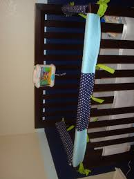 she u0027s crafty diy crib rail guard tutorial