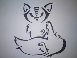 fox tattoo design idea kinda tribal i think tattoos pinterest