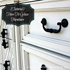 How To Glaze Cabinets Tutorial How To Glaze Painted Furniture The Vintage Storehouse