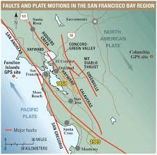 san francisco fault map is a powerful earthquake likely to strike in the next 30 years