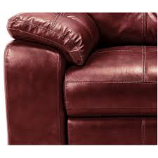 red leather recliner corner sofa 19 with red leather recliner