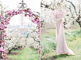 wedding arches uk blush elopement wedding inspiration in a blossom orchard