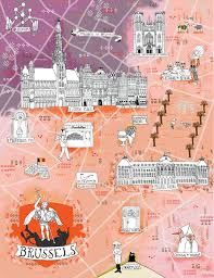 map brussels which places you visit already onlyinbrussels travel