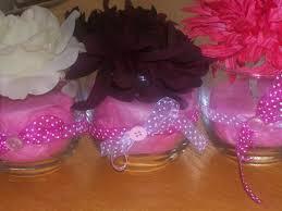 Simple Vase Centerpieces Craft Corner Baby Shower Centerpieces Jars Of Clay