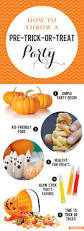 how to throw a pre trick or treat party chickabug