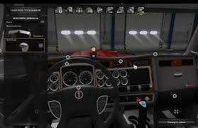 w900 kenworth truck shift knob for kenworth w900 in interior ats euro truck simulator