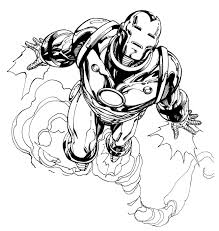 iron man coloring pages coloringsuite com