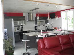 salon et cuisine moderne salon noir et blanc moderne