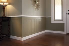 fresh wonderful half wall half paneling 12553
