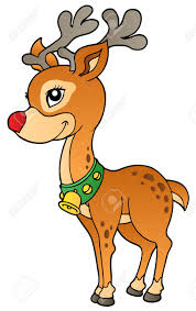 christmas reindeer christmas reindeer 2 illustration royalty free cliparts