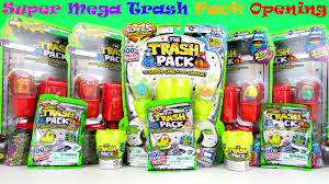 trash pack 5 series surprise toys blind bags eggs super