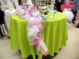 mesh ribbon table decorations more uses for the work garland trendy tree blog holiday decor