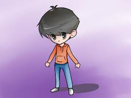chibi how to draw a chibi boy with pictures wikihow