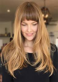 hairstyles for long hair blonde 55 long haircuts with bangs for 2018 tips for wearing fringe