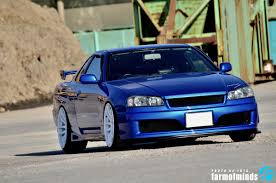 stanced nissan skyline the unsung hero yuta u0027s er34 farmofminds