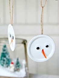 snowman handmade ornament is the tops petticoat junktion
