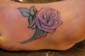 on foot tattoo