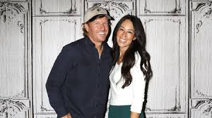 chip joanna gaines fixer upper stars chip gaines and joanna gaines church facing