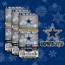 Cowboy Christmas Party Invitations - dallas cowboys christmas cards christmas lights decoration