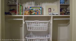 Kids Farmhouse Table Diy Kids Closet Storage And Baby Closet How To Around The