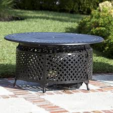 Fire Sense Patio Heater Reviews by Venza 48 Inch Propane Gas Fire Pit Table By Fire Sense Antique