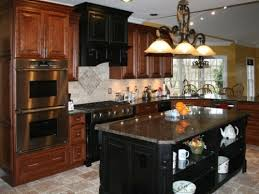 amazing paint color for kitchen with cherry cabinets u2014 smith design
