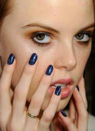 fall nyfw 2012 starry nights it was done with cnd midnight