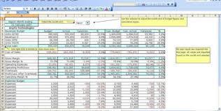 free budget form