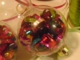 filled glass ornaments