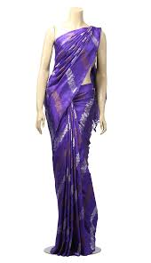 arong saree purple katan saree