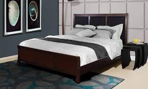 Wood Panel Headboard Headboard And Wood Bed Frame Groupon Goods
