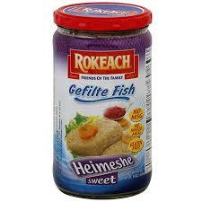 rokeach vienna gefilte fish rokeach heimeshe sweet gefilte fish 24 oz pack of 12 walmart