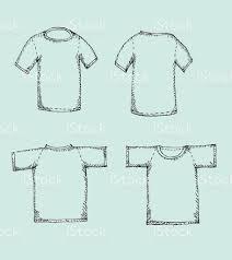apparel shirts template tshirt templates stock vector art