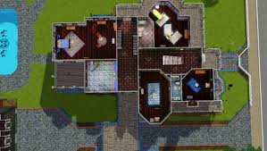 second empire floor plans mod the sims second empire elegance