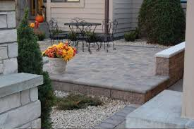 Raised Paver Patio Raised Paver Patios And Walks