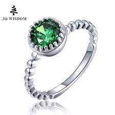 white silver rings images Jo wisdom silver ring green ring with white gold engagement rings for jpg