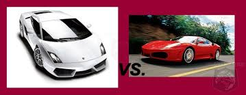 f430 vs lamborghini gallardo who makes the entry level car f430 vs