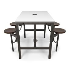 Standing Height Table by Ofm Standing Height Communal Table