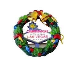welcome to las vegas wreath ornament citydreamshop