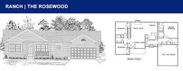 Group Home Floor Plans by Ranch Floor Plans Schalmo Custom Home Builder
