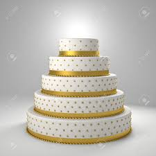 golden wedding cakes golden wedding cake 3d image stock photo picture and royalty free